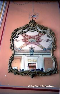 Pozzuoli (NA), 2000, Antiche terme, Specchiera.