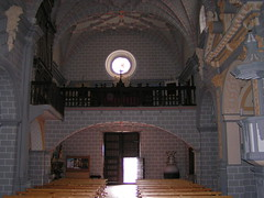 Vista del Coro desde el Altar Mayor