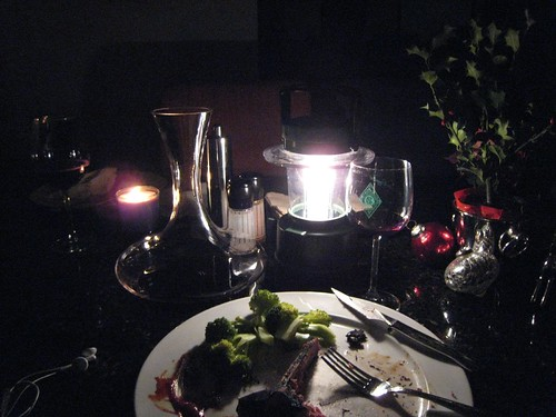 blackout, power outage, candle light dinner IMG_0665