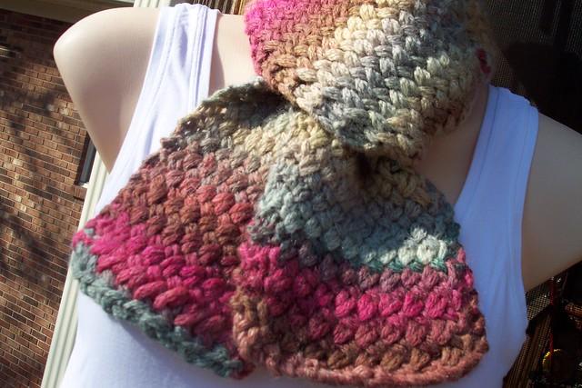 Cross Stitch Knitting Pattern Scarf : Knitted Cross-Stitch Pattern Scarf Flickr - Photo Sharing!