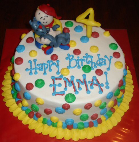 Caillou Cake  Flickr - Photo Sharing!