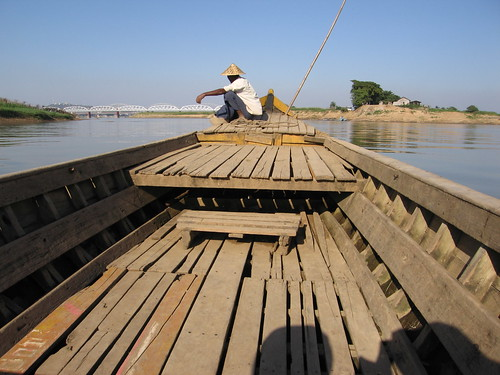 The Inwa Ferry to the Ancient City of Ava