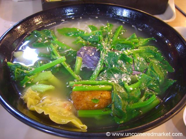 Yong Tau Foo Soup - Singapore
