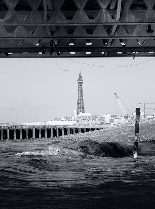 Photography - South Pier with Tower by Nicholas M Vivian