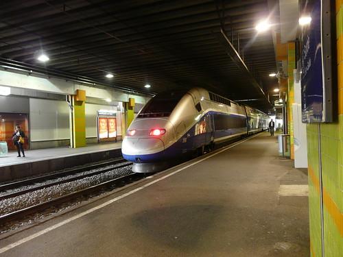 Montpellier train station, Gare St Roch