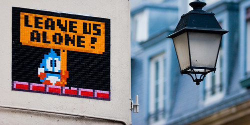 Space Invaders au coeur de Paris