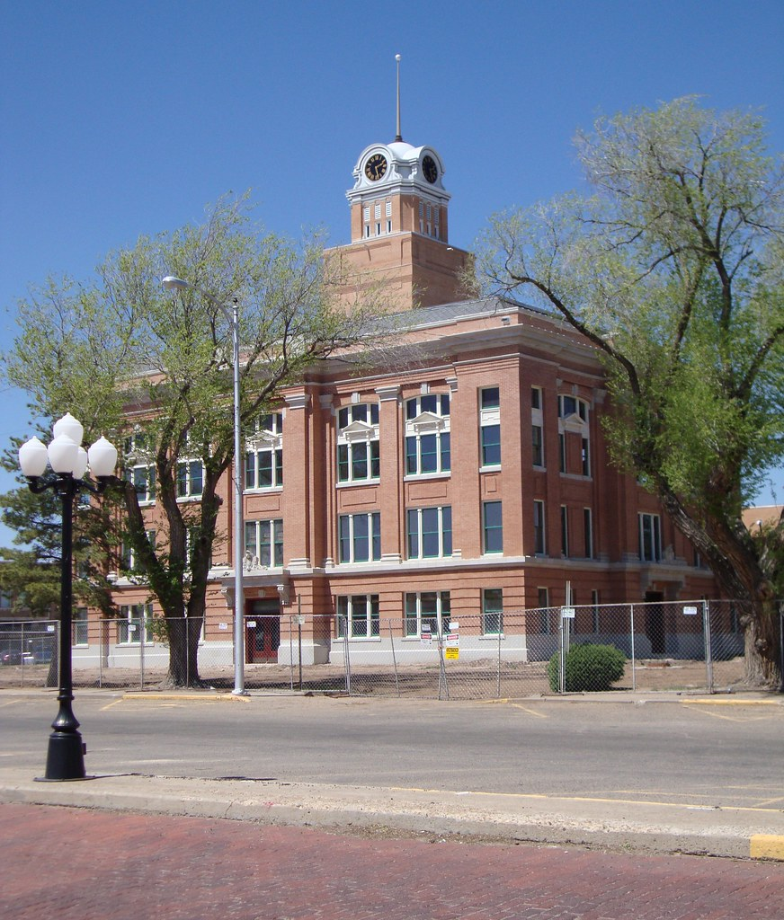 Old Randall County Courthouse (Canyon, Texas) | This excelle