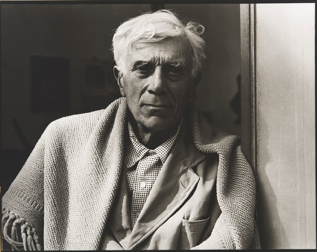 Georges Braque, Varengeville-sur-Mer, France, 1957, by Paul Strand