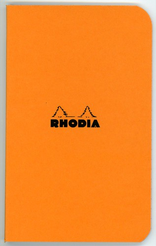 "rhodia comes out with mini 3x4"" notebook"