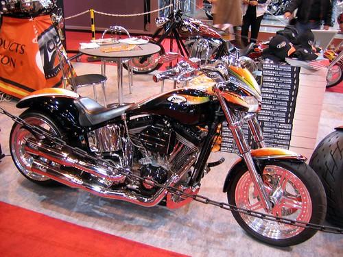 Custom Motorcycle by Zodiac