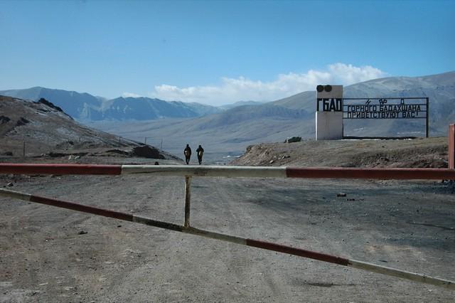 At Tajikistan-Kyrgzystan Border