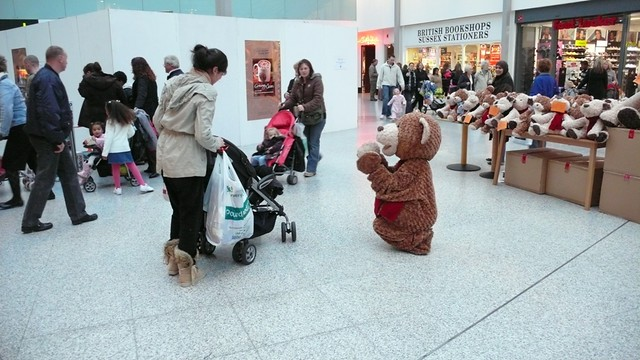 Something for the kids in Romford Shopping Centre