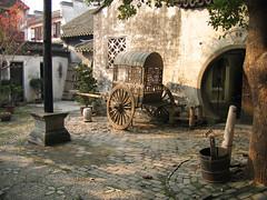 A courtyard in Zhou Zhuang, China