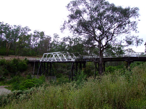 bridge heritage wooden bush country australia victoria buchan eastbuchan murrindalbridge heritageregister