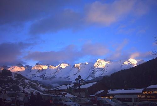 Grand Bornand Alps