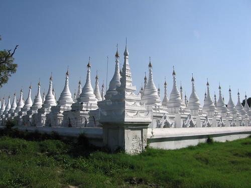 Stupas - Sandamani Paya - Mandalay, Myanmar (Burma)