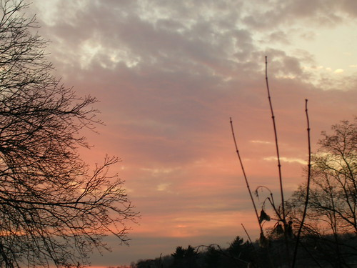 Morristown, NJ Sunset 2006-01-04-8