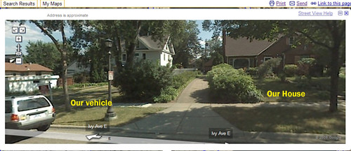 Google Maps Street View Based On The For Sale Sign In Fron Flickr