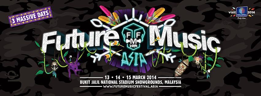 Senarai Artis Perform di Future Music Festival Asia 2014