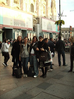 shopping with girls! Milano 27ottobre2007