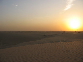 Dubai's weather is warm and humid for most of the year, and the sky is rarely cloudy.