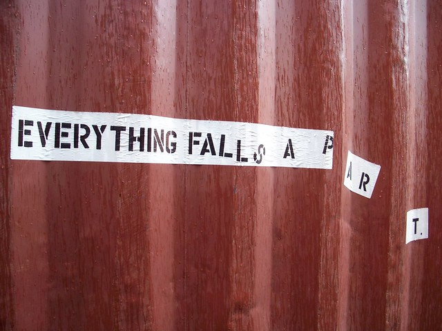 everything fall s   a  p   a  r         t