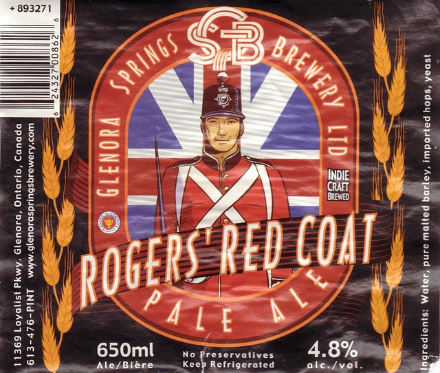 Rogers' Red Coat Pale Ale
