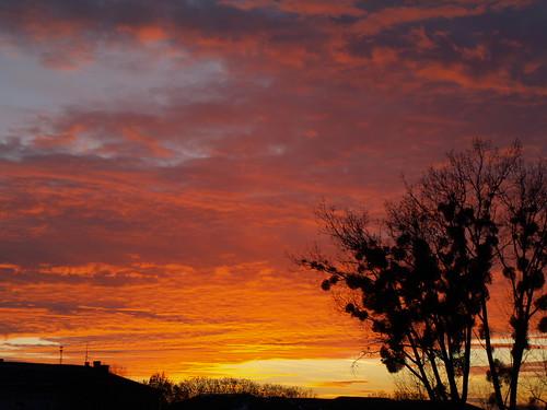 sunset sun rivne rovno