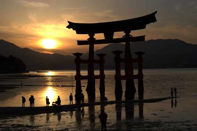 Miyajima Shrine - Miyajima Island - Japan