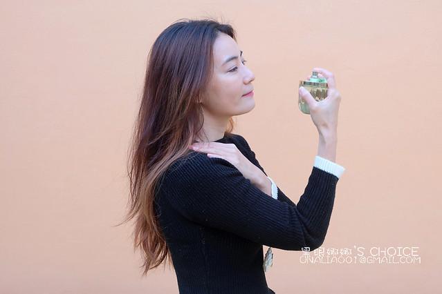花漾清新女性淡香水噴法