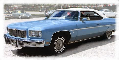 1976 chevy impala convertible