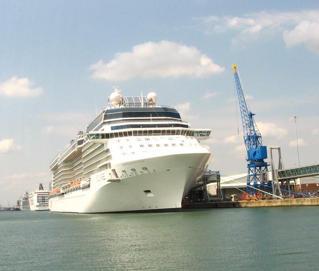 Cruise Ship Celebrity Eclipse Southampton 462011