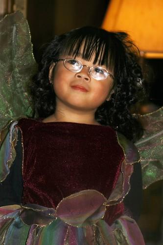 Olivia in Her Halloween Costume