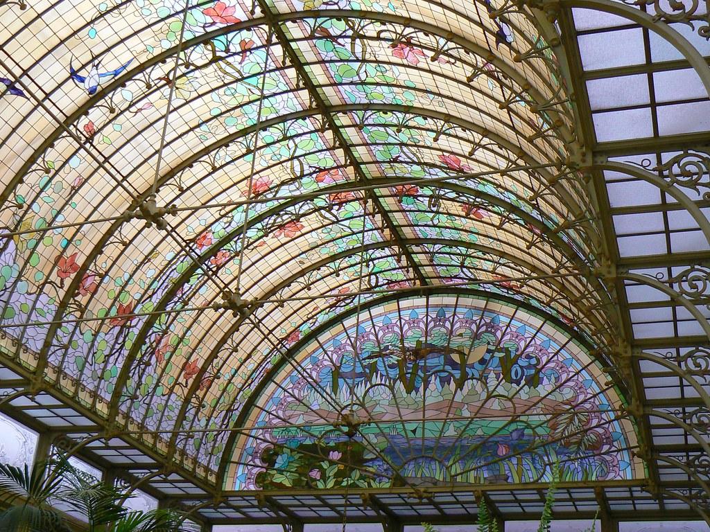 art nouveau dome onze lieve vrouw waver belgium a photo on