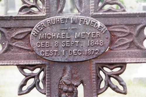 saint peter's catholic church cemetery - tilden, wi