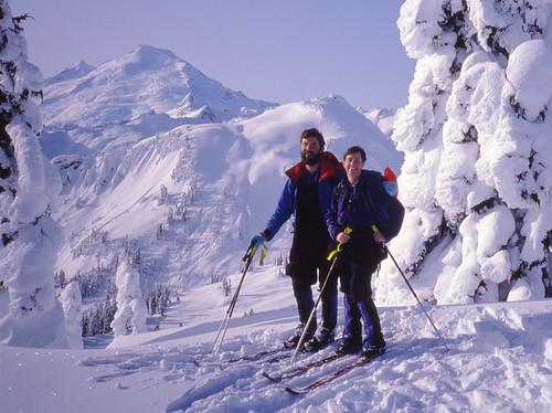 Young skiers par Silver Creek Garden