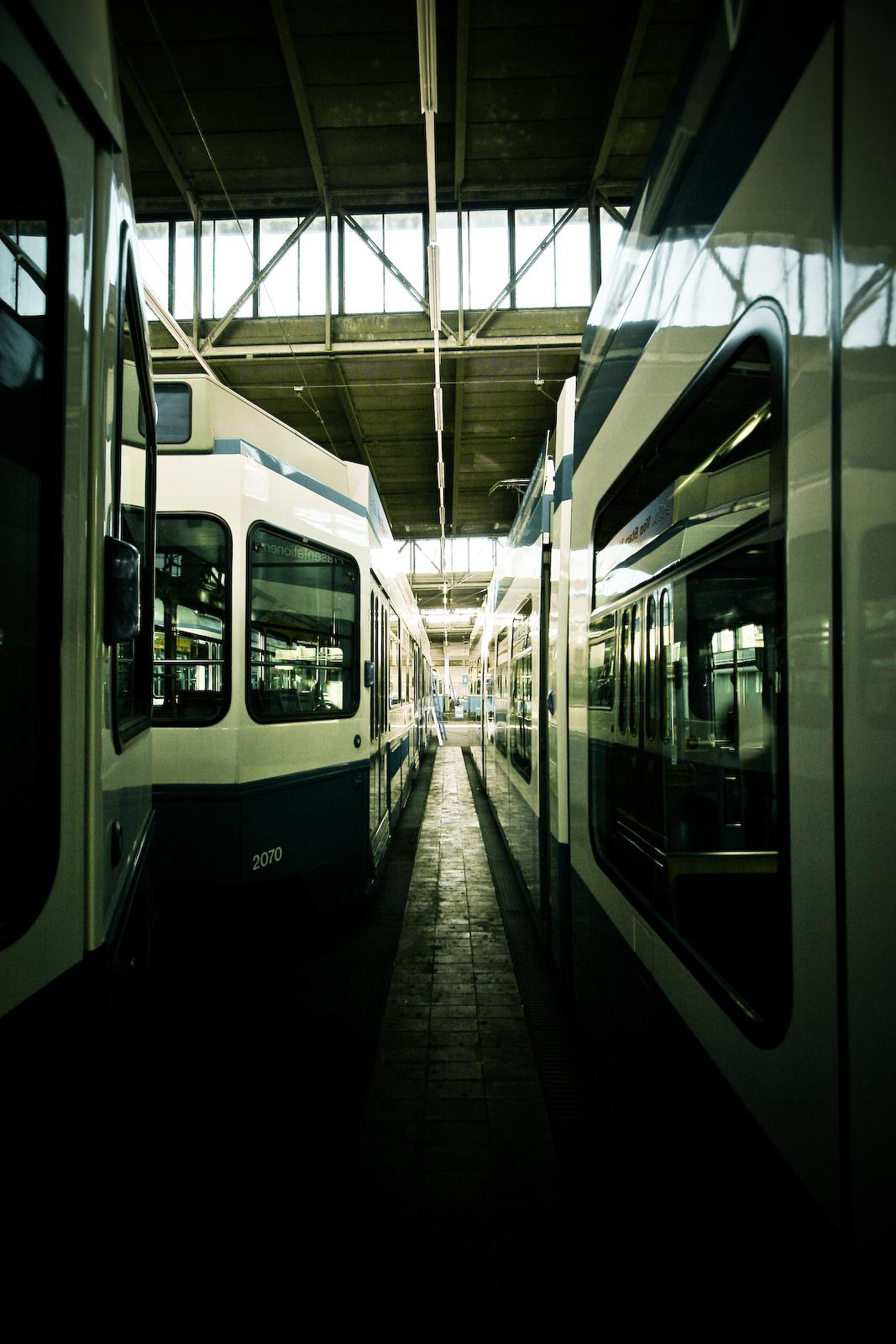 Tram Depot #4