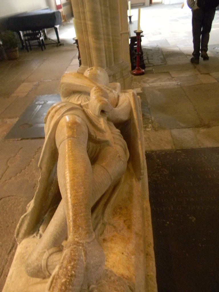 Cross legged knight Dorchester Abbey. Appleford Circular