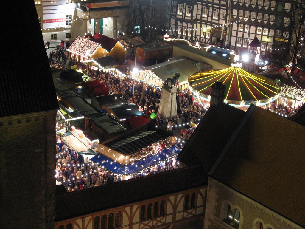 Weihnachtsmarkt Braunschweig.Weihnachtsmarkt Braunschweiger Weihnachtsmarkt Auf Dem Bur M