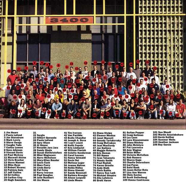 Hanna-Barbera Studios, December 1997