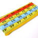Yellow, Blue and Red Measuring Tape Case