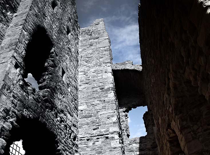 Photography - Tantallon Castle Rise by Nicholas M Vivian