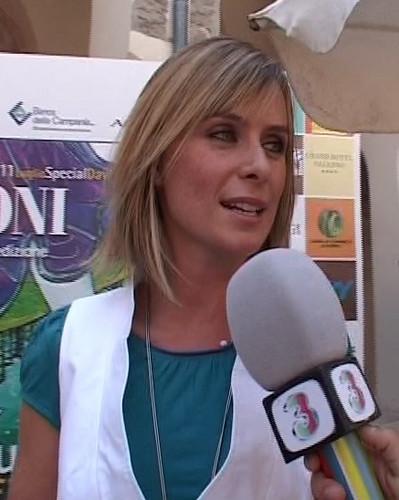 Serena Autieri Luglio 2007 Giffoni Film Festival