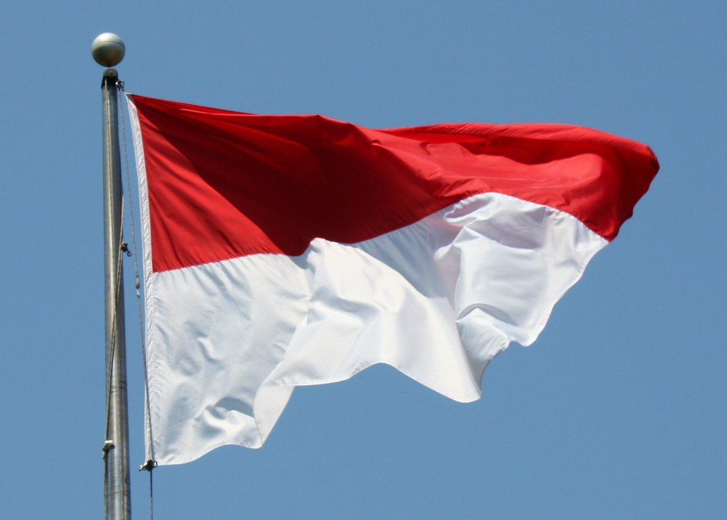 Embassy of Indonesia Flag
