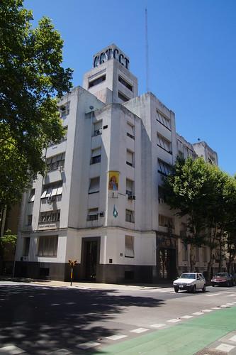 001 Evita op gebouw Buenos Aires