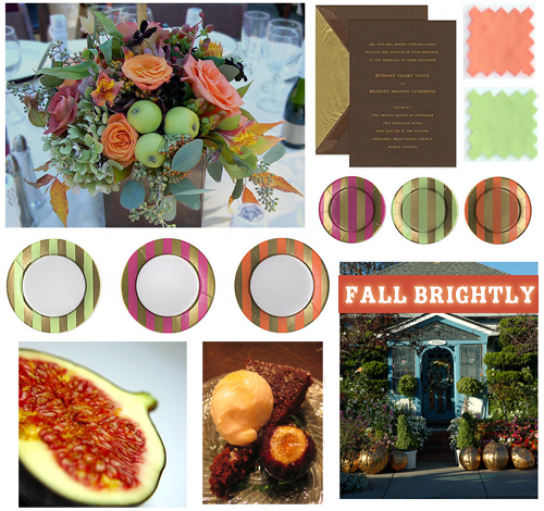 Noted autumn party themes fall softly fall brightly - Bridal shower theme ideas for fall ...