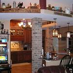 Knotty Alder Cabinet Dark Granite Kitchen