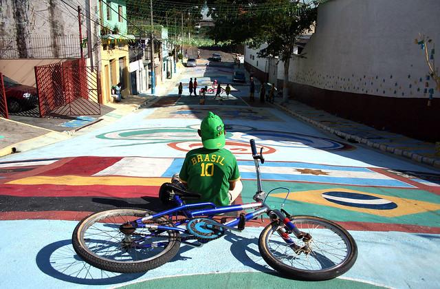 Pintura de Rua, São Paulo - Copa do Mundo de 2006.