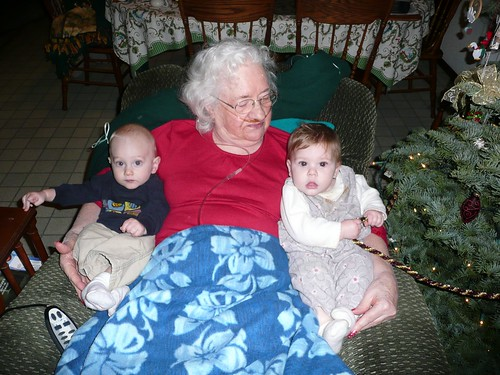 Great Grandma and the Nash/Burns babies
