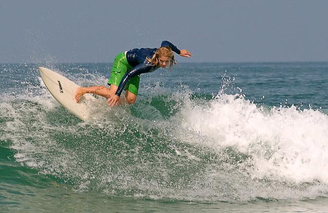Girl Surfing Moonlight 9038